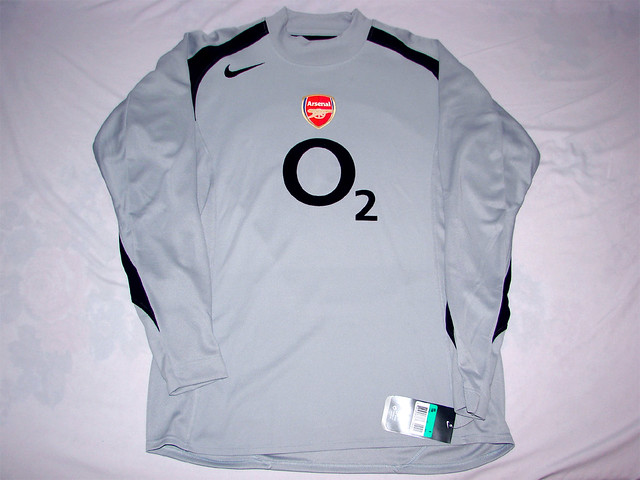 premium selection f21a4 d2aa9 Arsenal FC 04/05 Home GK Jersey | Arsenal FC 04/05 Home GK J ...