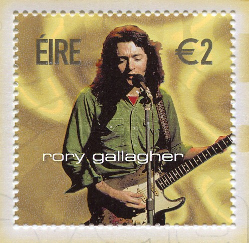 rory gallagher / stamp | by ballyshannon