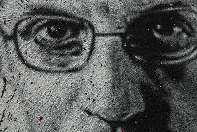 Michel Foucault, painted portrait DDC_7450.jpg