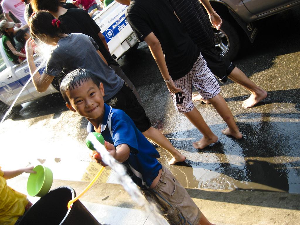 Songkran - Chang Mail, Thailand