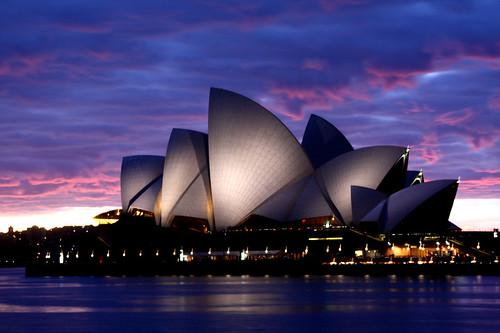 Opera House Sunrise   by Jong Soo(Peter) Lee