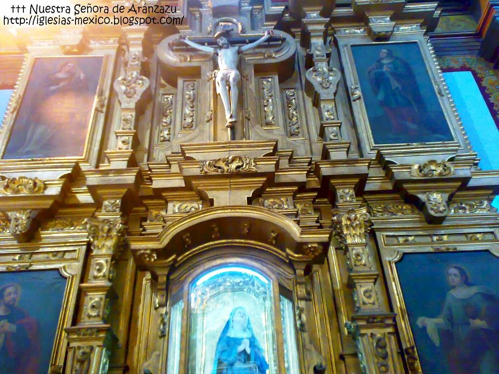 Templo De Nuestra Senora De Aranzazu Guadalajara Estado Flickr
