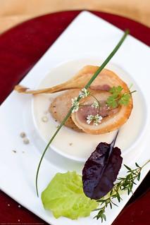 Smokehouse Scallops, pancetta, smoked cheese soup   by nikaboyce