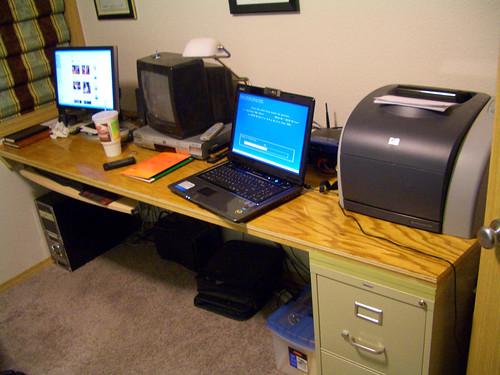 Built-in desk in the den | by volkspider