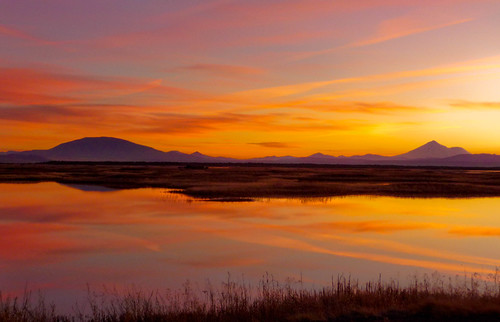 Sunset 2 - Klamath Basin National Wildlife Refuge | by ex_magician