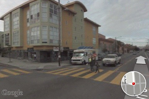 Street View Of My House On Google Maps For Iphone Flickr
