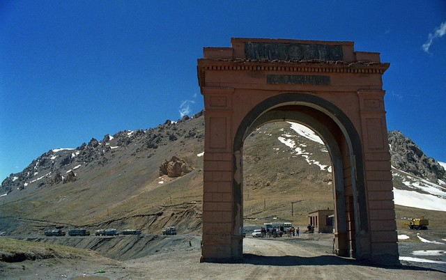 Torugart Pass,Kyrgystan Uyghur (China) border