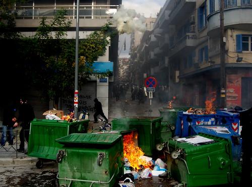 Riots in Thessaloniki - Greece | by Teacher Dude's BBQ