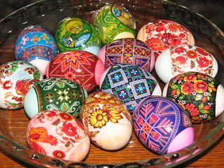 Easter Eggs Polish style (the easy way)