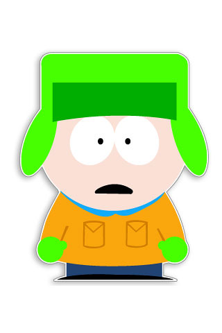 ... Kyle Broflovski - South Park (iPhone wallpapers and iPod Touch backgrounds) | by igadgetszone