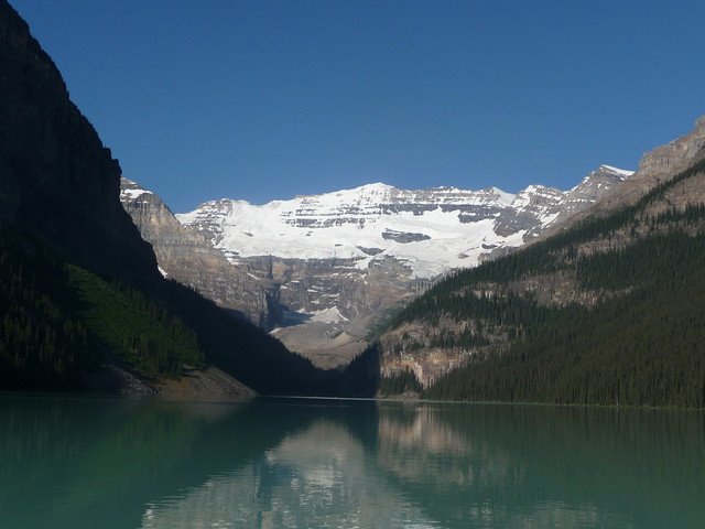 Lake Louise early in the morning