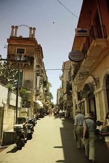 Walkin in Taormina