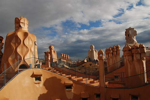 Pedrera rooftop | by vasile23