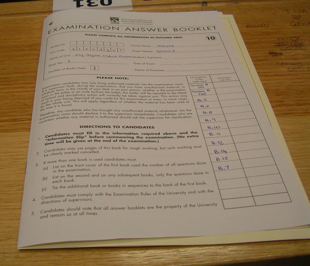 Last Exam Ever | Yes, I took a photo of my last exam ever be… | Flickr