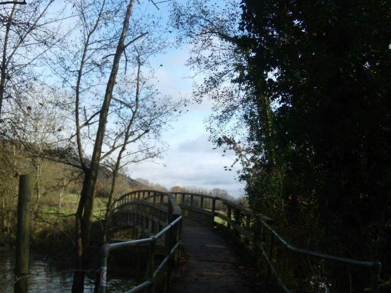 Bridge to Box Hill Farm Dorking to Reigate