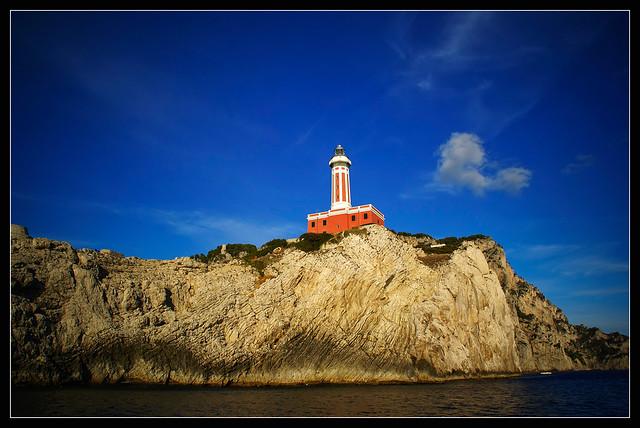 Capri's lighthouse
