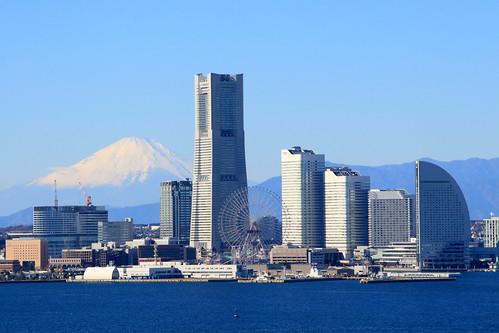 Mt. Fuji from Yokohama | by skyseeker