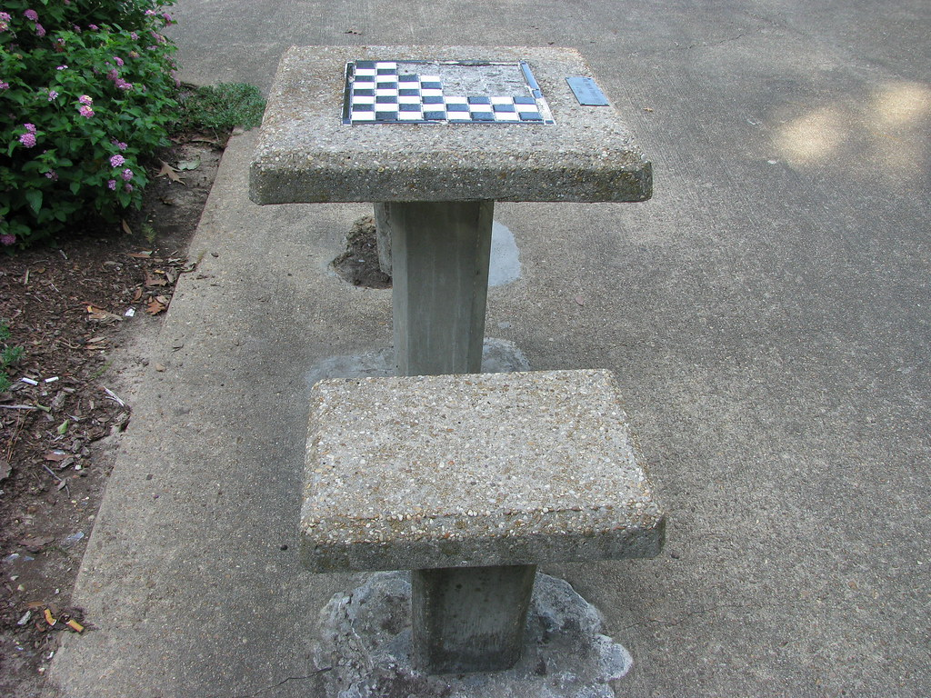 Checkers in Smith Park