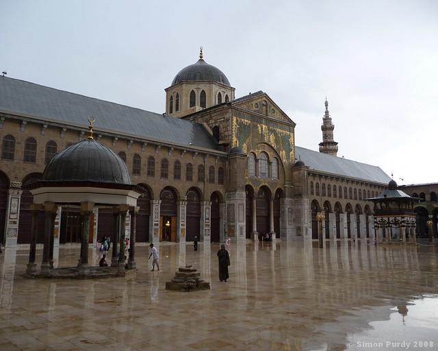Umayyad Mosque, Damascus, Syria | Copyright © 2008, Simon Pu