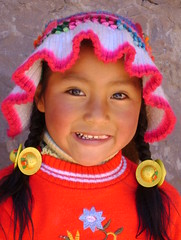 Little girl at Taquile