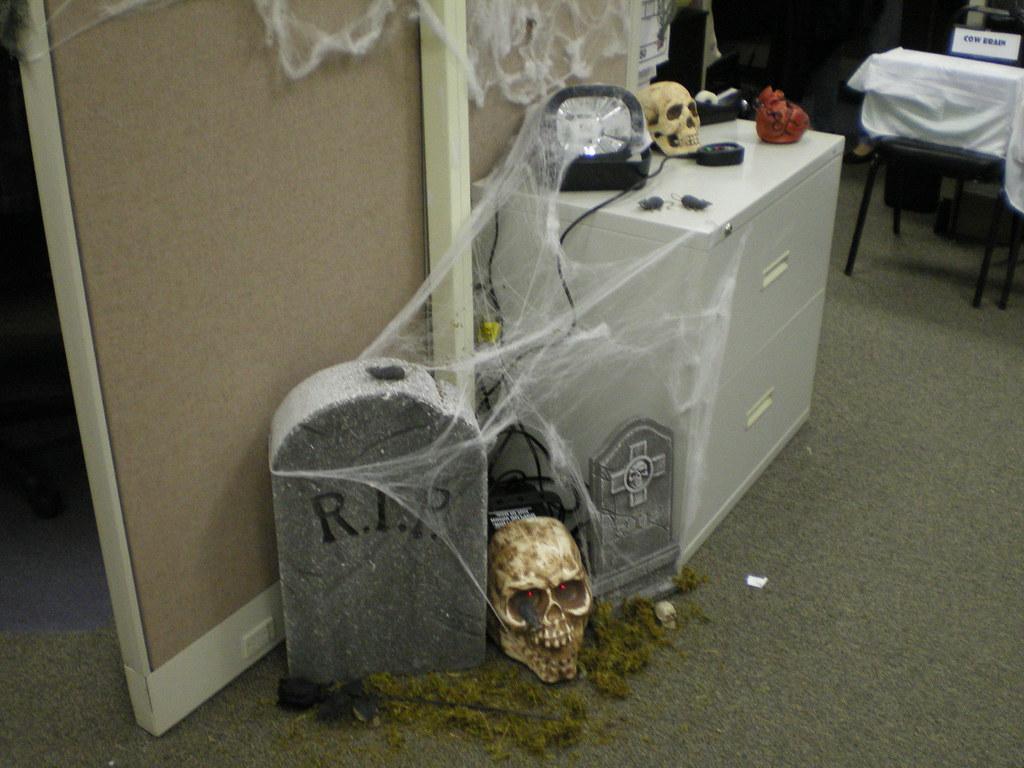 Office Halloween Decorations Drbaerg Flickr