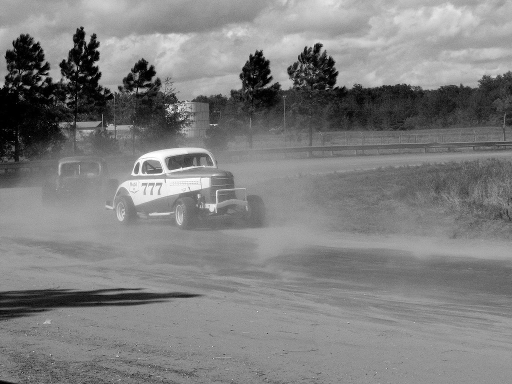 Zephyrhills Car Show: Old Time Racing At The Zephyrhills Auto Show.