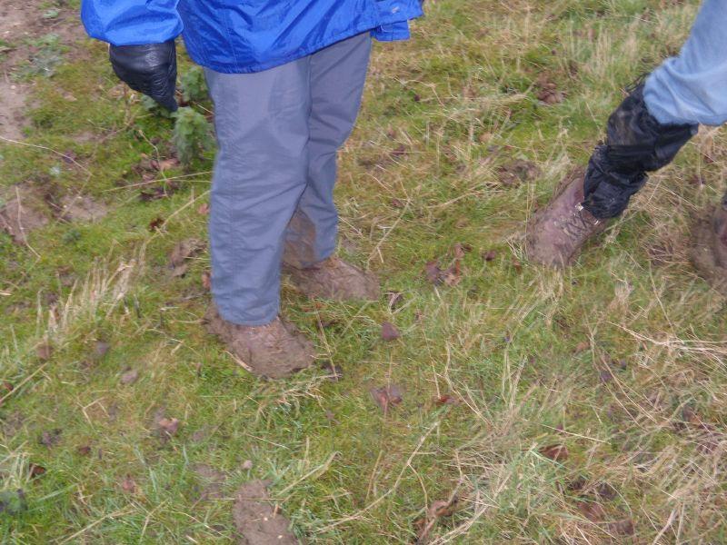 Mud, boots Kelvedon circular