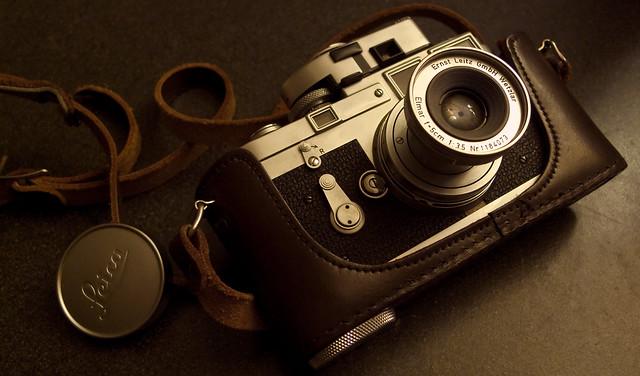 Leica M3, Elmar-M 50mm f3.5
