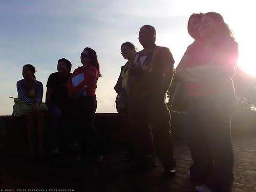 Near dusk in Tagaytay