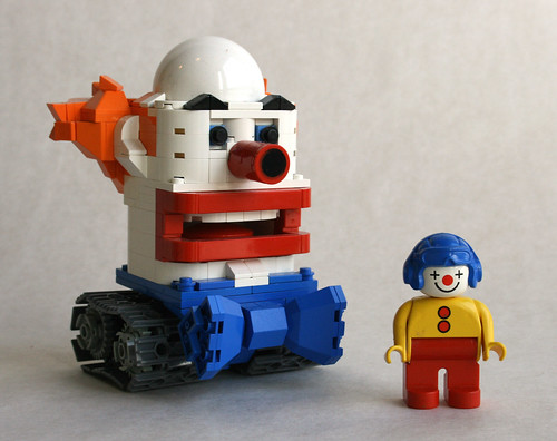 Clown Wars Tank and Driver | by MacLane
