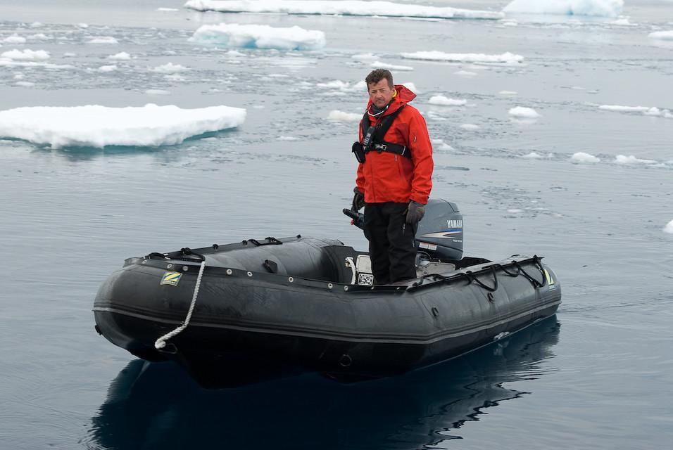 A Rare Antarctic Rob