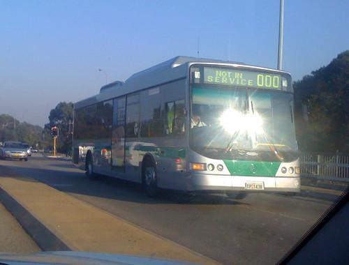 bus mercedes transperth