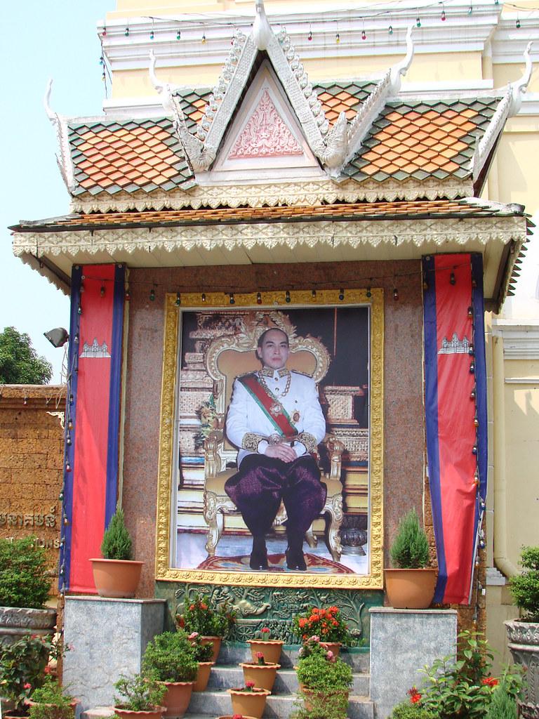 """Portait de Norodom Sihamoni, Roi du Cambodge"" by dalbera is licensed under CC BY-NC-SA 2.0"