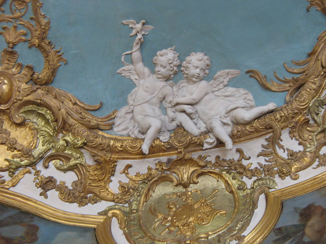 Ceiling detail, Hôtel de Soubise