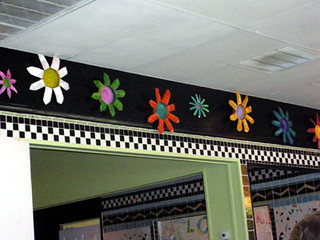 Flowers at Buck's Diner | by CraftyHope