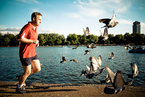 Runner @ Hyde Park | by miguel77