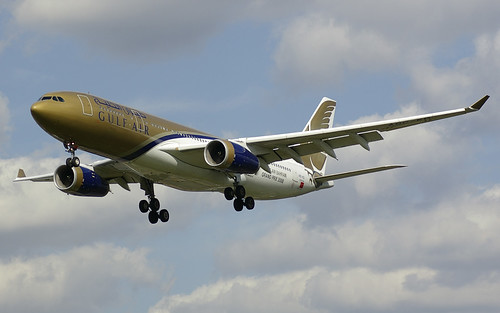 A9C-KD / Airbus A330-243 / 287 / Gulf Air | by A.J. Carroll (Thanks for 1 million views!)