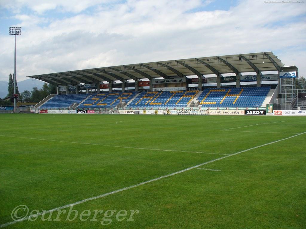 Altach Stadion Schnabelholz 003 Die Neue Haupttribune