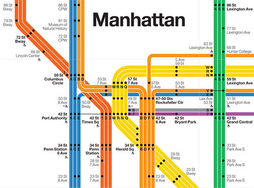 Grand Central Station Subway Map.1972 Subway Map By Vignelli Photoscream Flickr