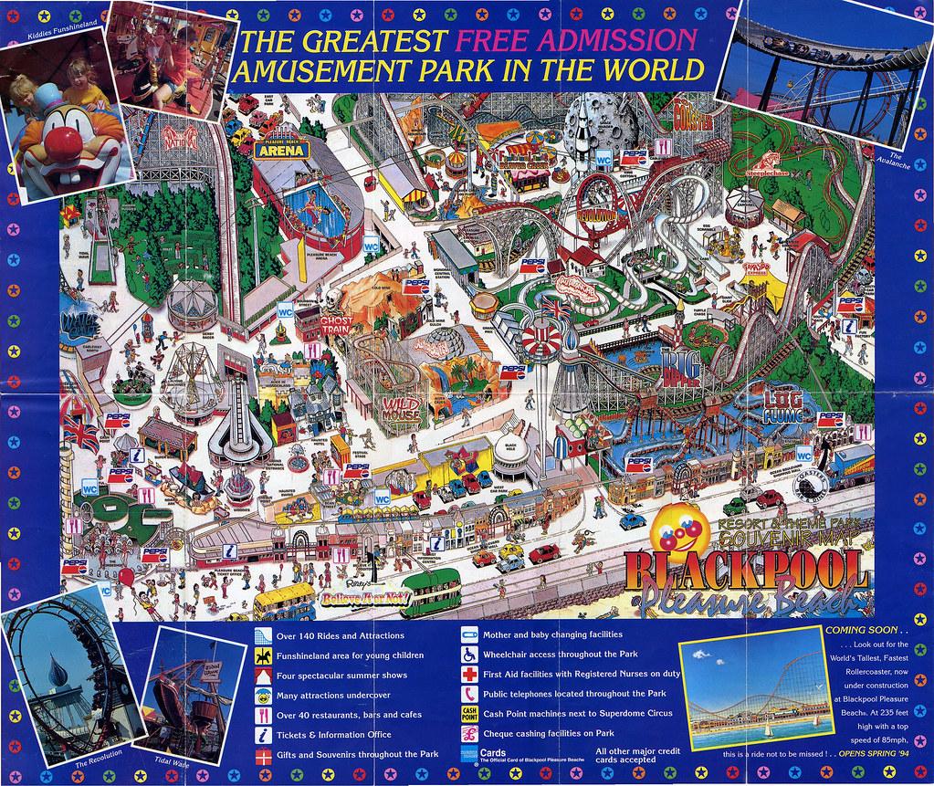 2994335843_999ef39997_b Map Of Blackpool Pleasure Beach on map of bay beach amusement park, map of santa cruz beach boardwalk, map of blackpool illuminations, map of blackpool north,