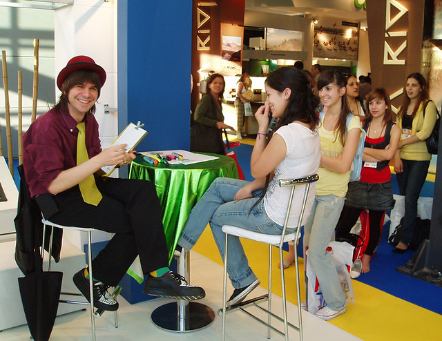 www.marceloguerra.com.ar / SHOW DE CARICATURAS