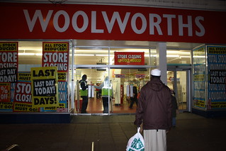 Woolworths closing today