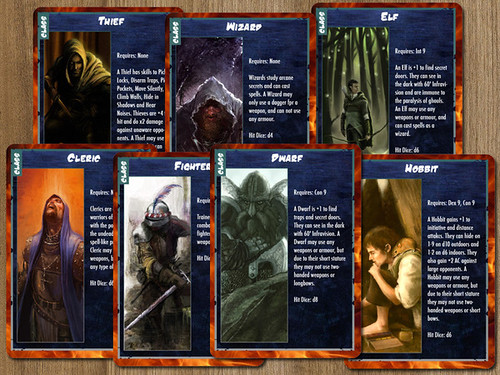 D&D Character Cards | by robertsongames