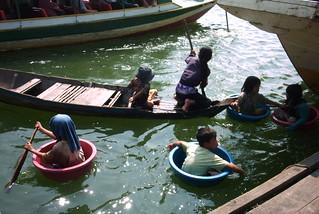 Tonle Sap Lake near Siem Reap, Cambodia