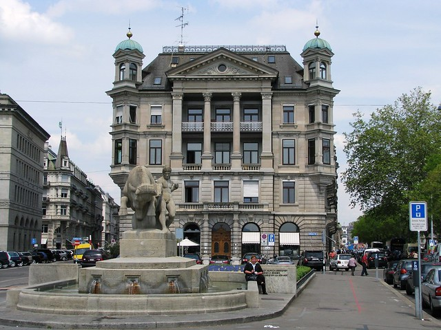 Circular City Tour, Zurich, Switzerland