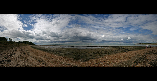 Thorness Bay Panorama