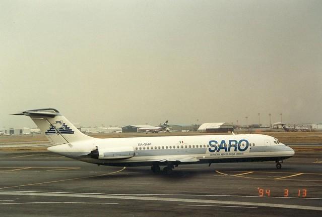 SARO DC9-31 XA-SHV(cn306)