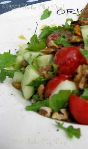 tomato-cucumber salad | by BakingSoda