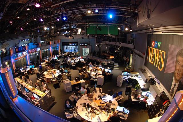 CTV news live studio   Toronto   carlo de marchis   Flickr