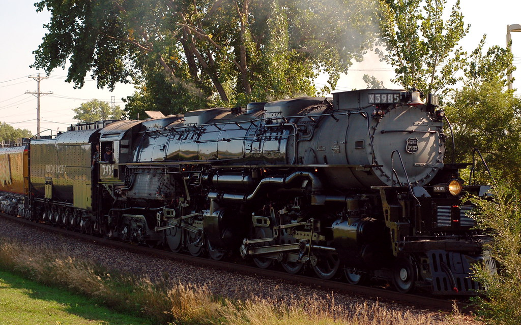 The World's Largest Operating Steam Locomotive | The Union P